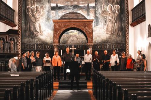 Øvelse i Ullern kirke